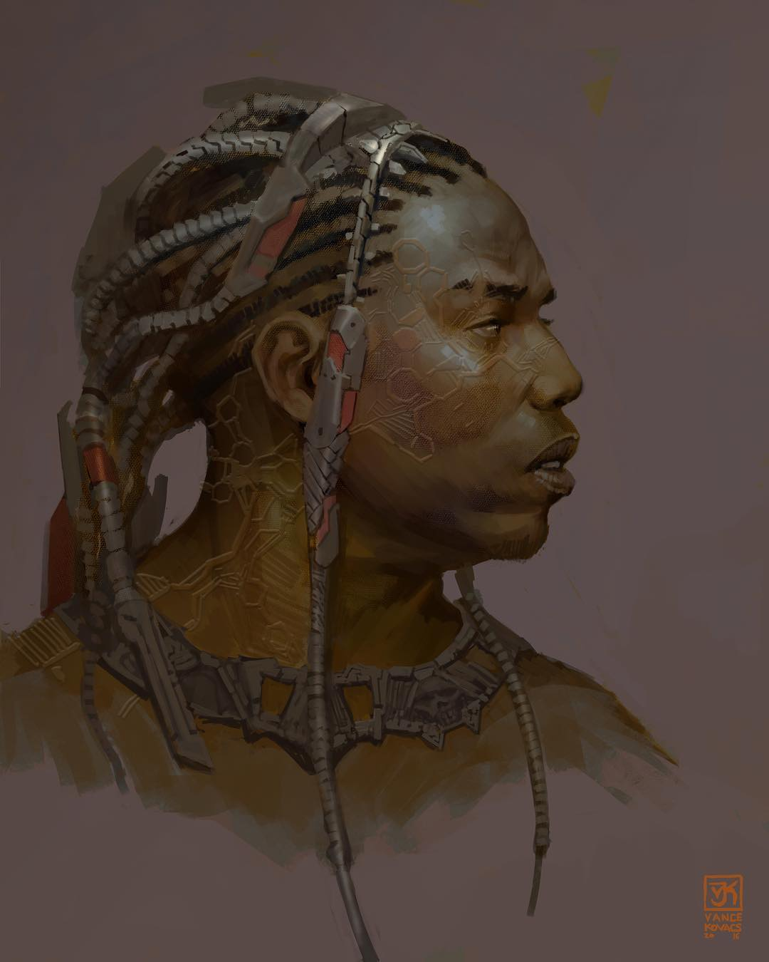 Black Panther Concept Art Vance Kovacs 08 Killmonger