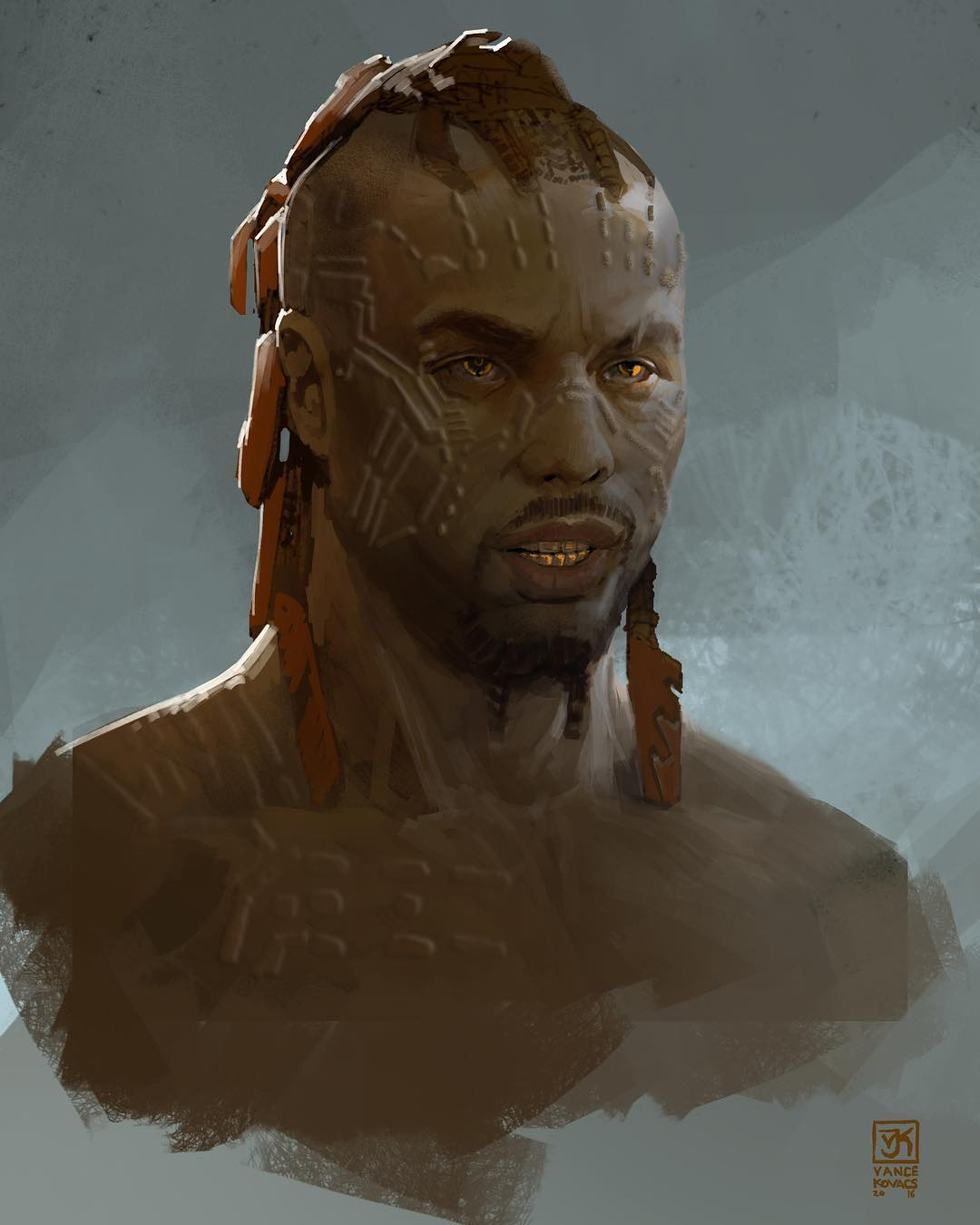 Black Panther Concept Art Vance Kovacs 09 Killmonger