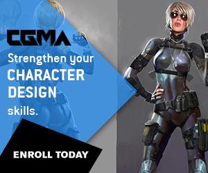 CGMA – Character Design 1