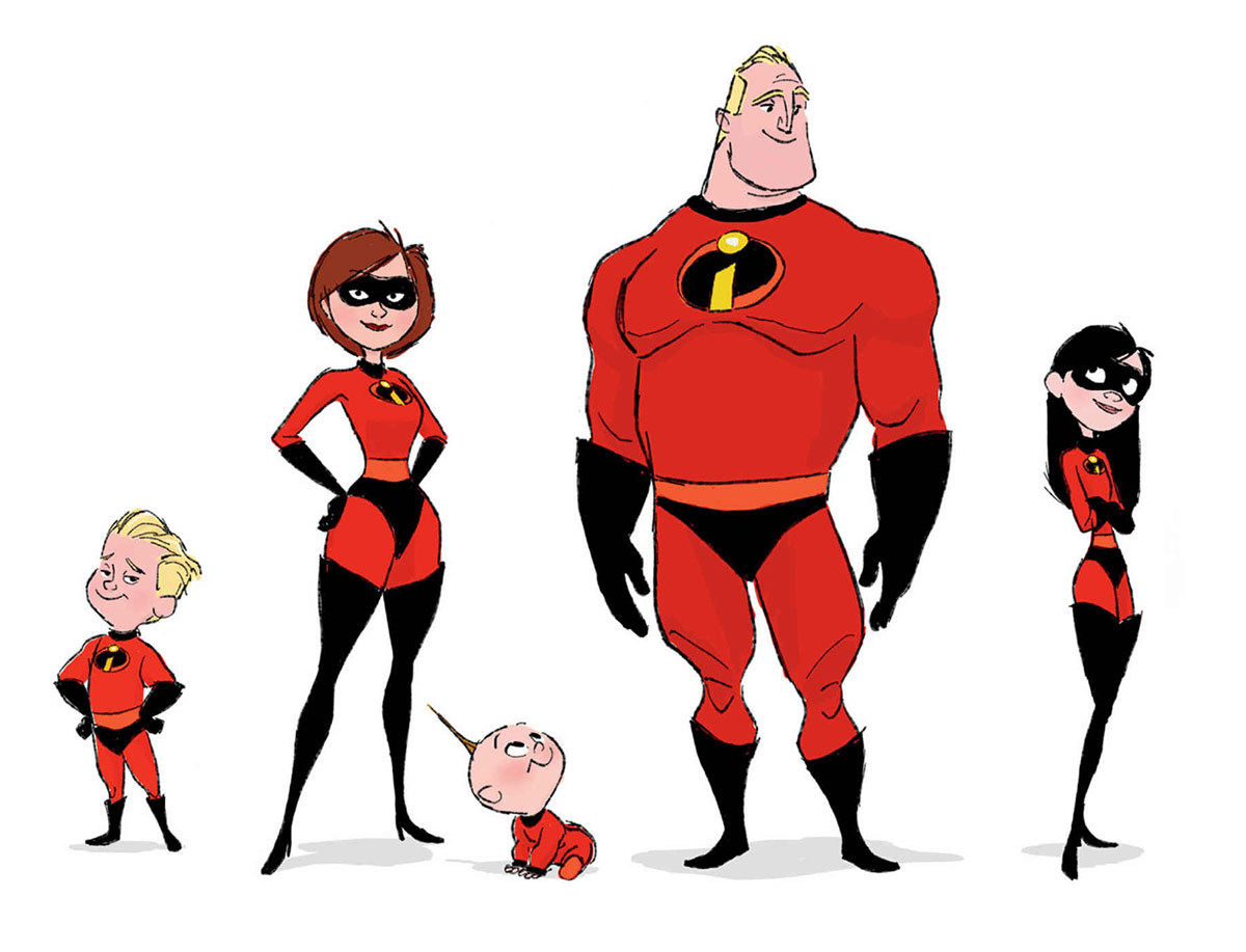 the art of incredibles 2 concept art world