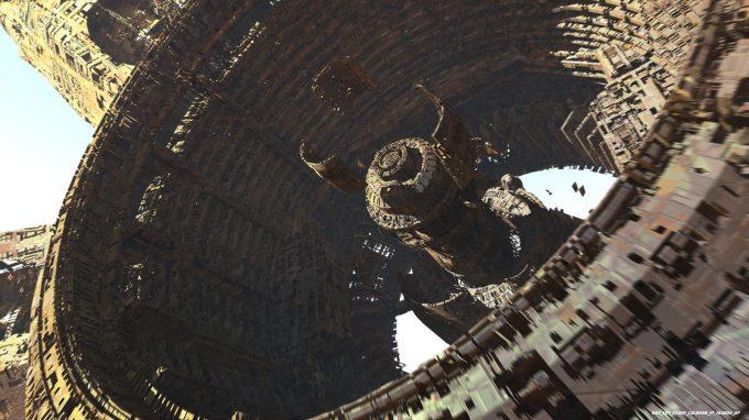 Avengers Infinity War Concept Art Olivier Pron 003 EXT Titan1 ColonyB V1 162804 OP