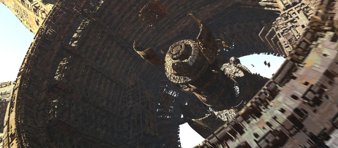 Avengers Infinity War Concept Art Olivier Pron 003 EXT Titan1 ColonyB V1 162804 OP M01