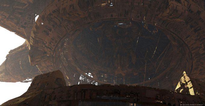 Avengers Infinity War Concept Art Olivier Pron 007 EXT Titan1 ColonyA V1 162104 OP