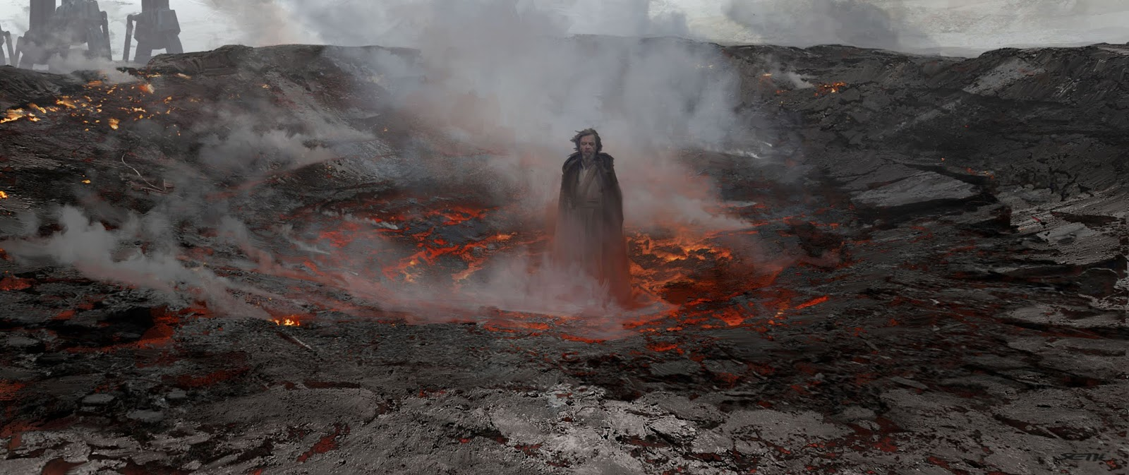 Star Wars The Last Jedi Concept Art By Seth Engstrom