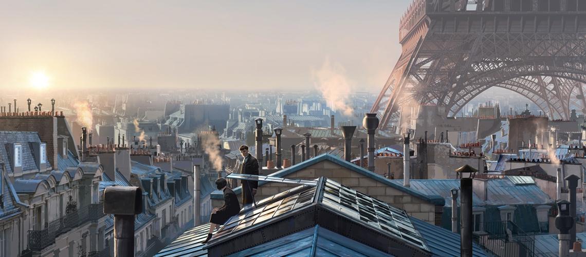 Fantastic Beasts The Crimes of Grindelwald Concept Art Peter Popken M01