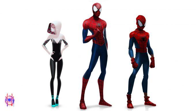 Spider Man Into the Spider Verse Concept Art Florent Auguy spidergwen spiderman miles