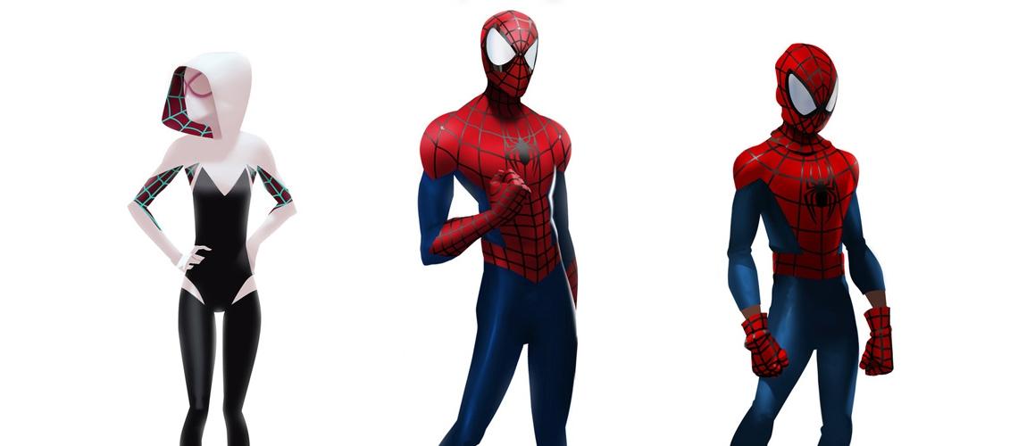 Spider Man Into the Spider Verse Concept Art Florent Auguy spidergwen spiderman miles M01