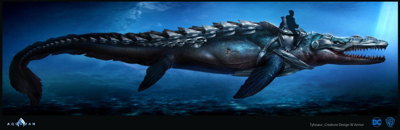 Aquaman Concept Art By Sebastian Meyer Concept Art World
