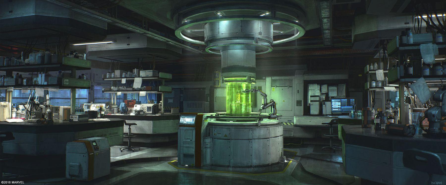 http://conceptartworld.com/wp-content/uploads/2019/01/Spider-Man-PS4-Game-Concept-Art-Dennis-Chan-Lab_Interior_Concept_Final_v002.jpg
