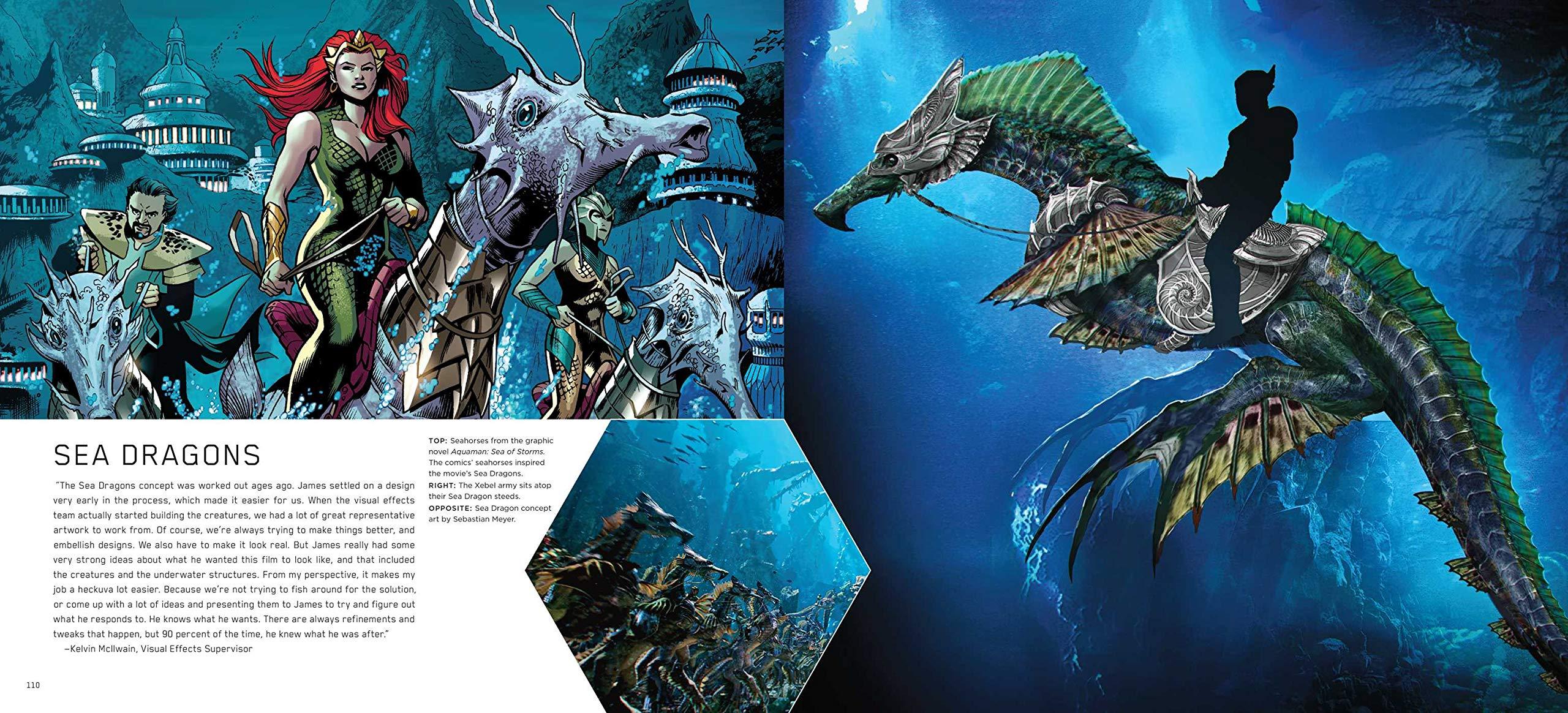 The Art And Making Of Aquaman Art Book 06 Concept Art World