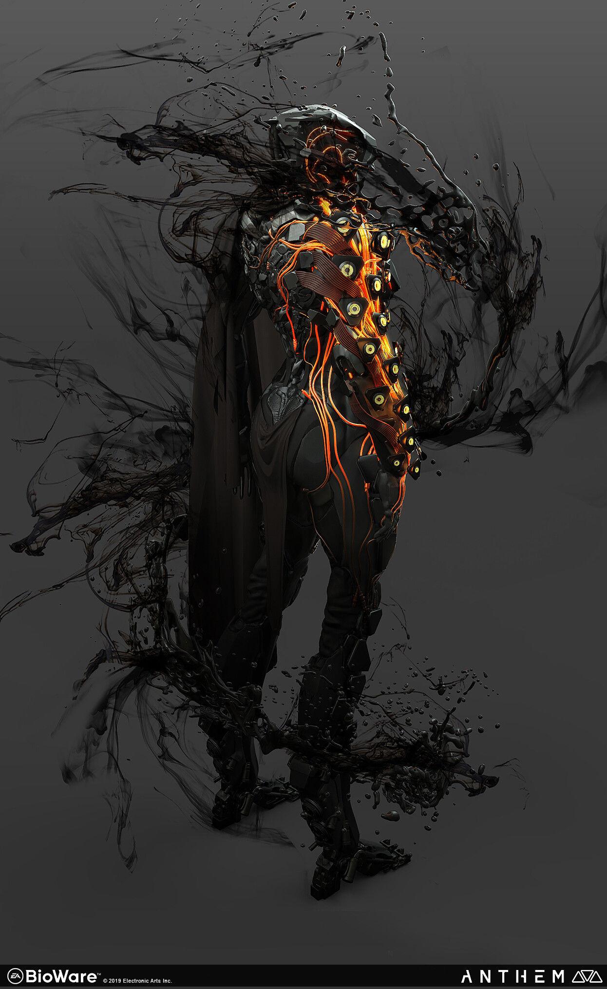 Anthem Concept Art By Alex Figini World