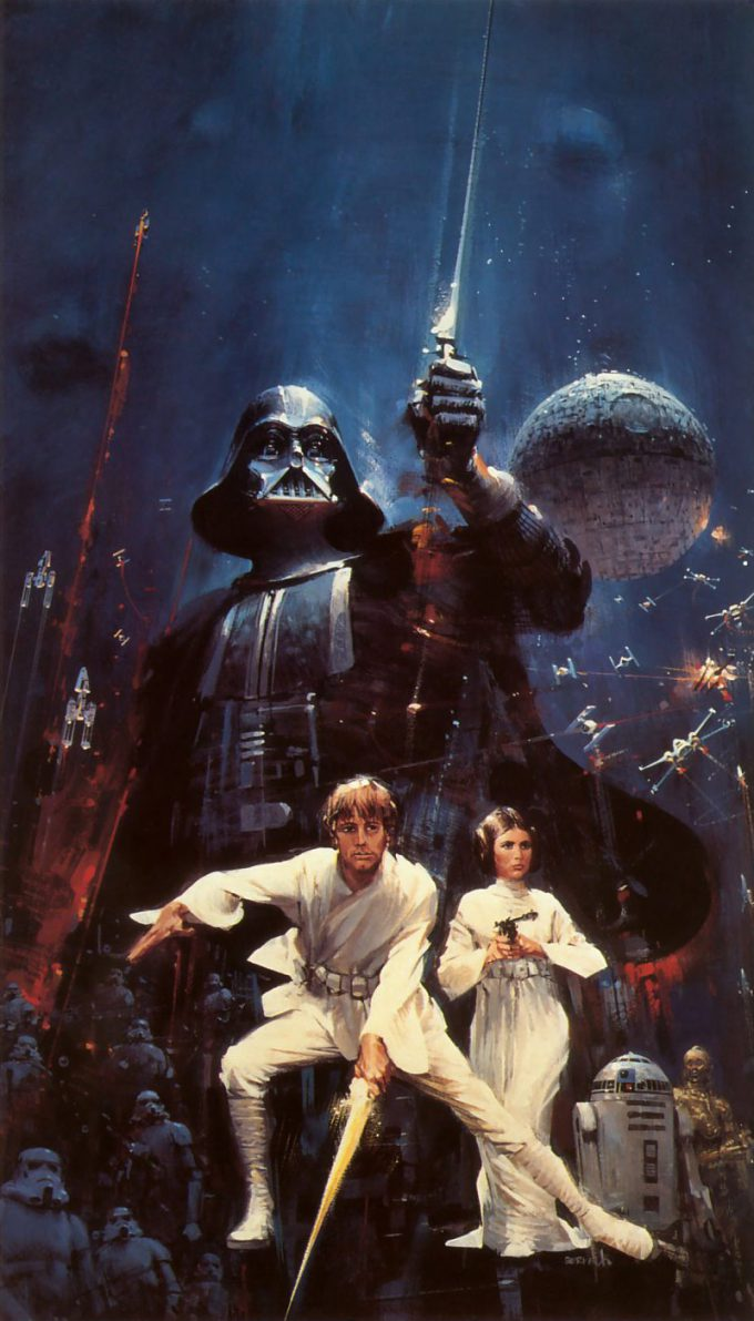 Star Wars Poster Art Cover John Berkey