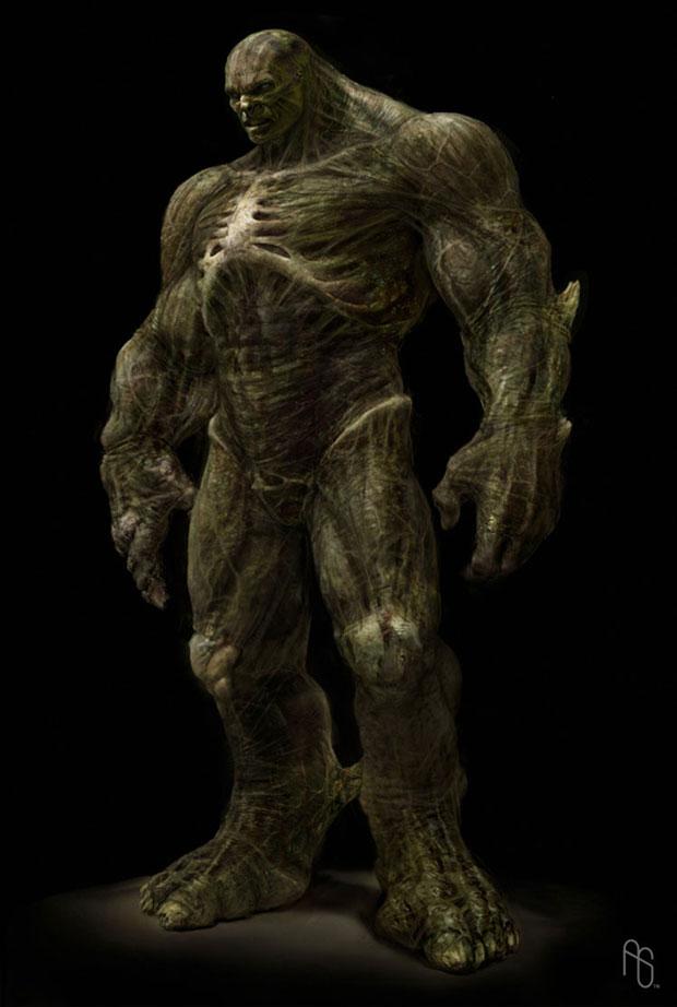 Incredible Hulk Concept Art