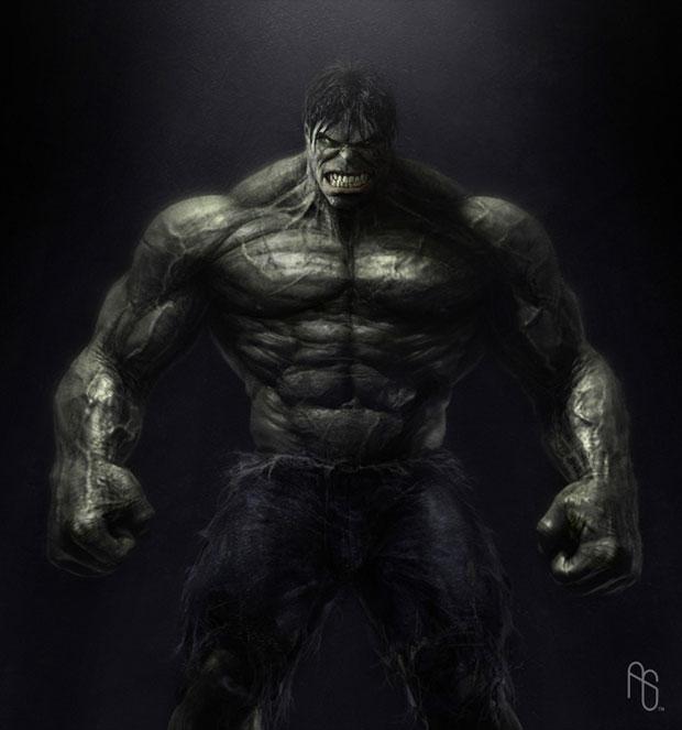 Incredible Hulk Concept Artwork