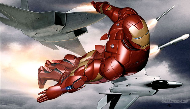 Iron Man Concept Art