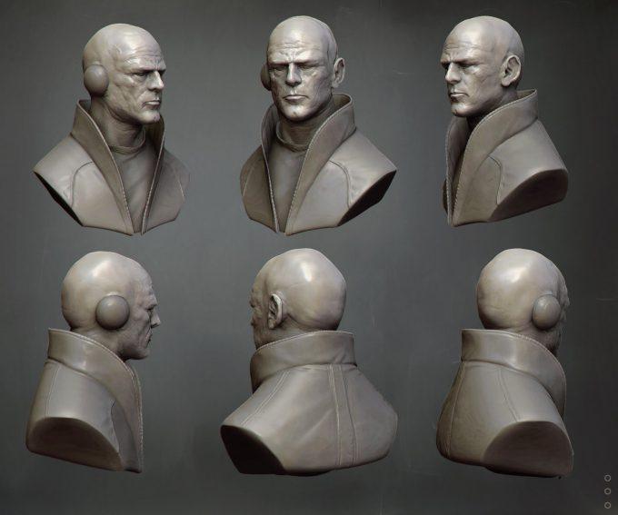 David Munoz Velazquez concept art metabaron model
