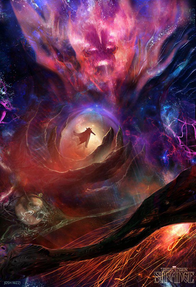 Doctor Strange concept art Josh Nizzi Dormammu v05