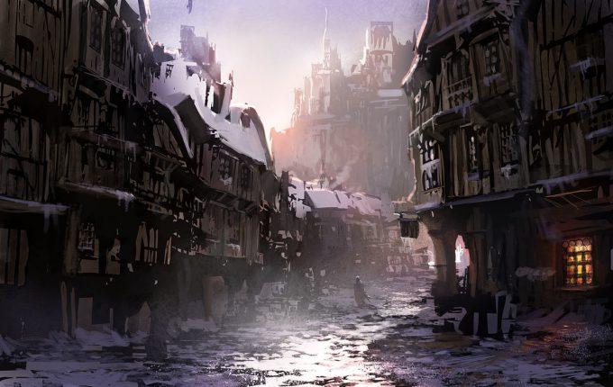 Pierre Etienne Travers Concept Art hiver 3