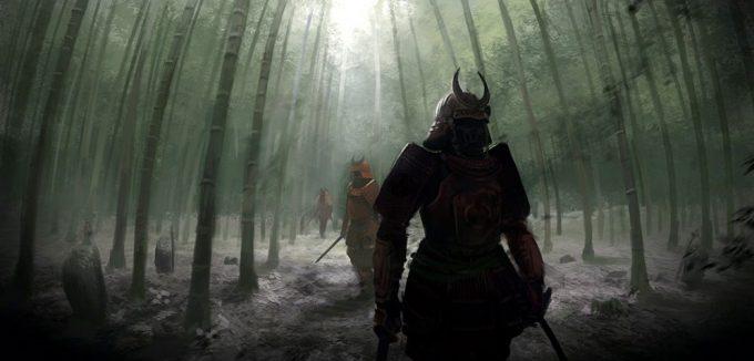 Pierre Etienne Travers Samurai Concept Art Illustration