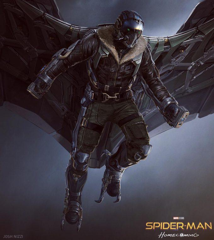 spider man homecoming concept art Josh Nizzi 01 Vulture