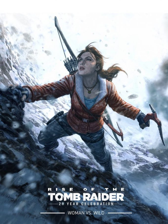 Rise of the Tomb Raider Cover art Andy Park