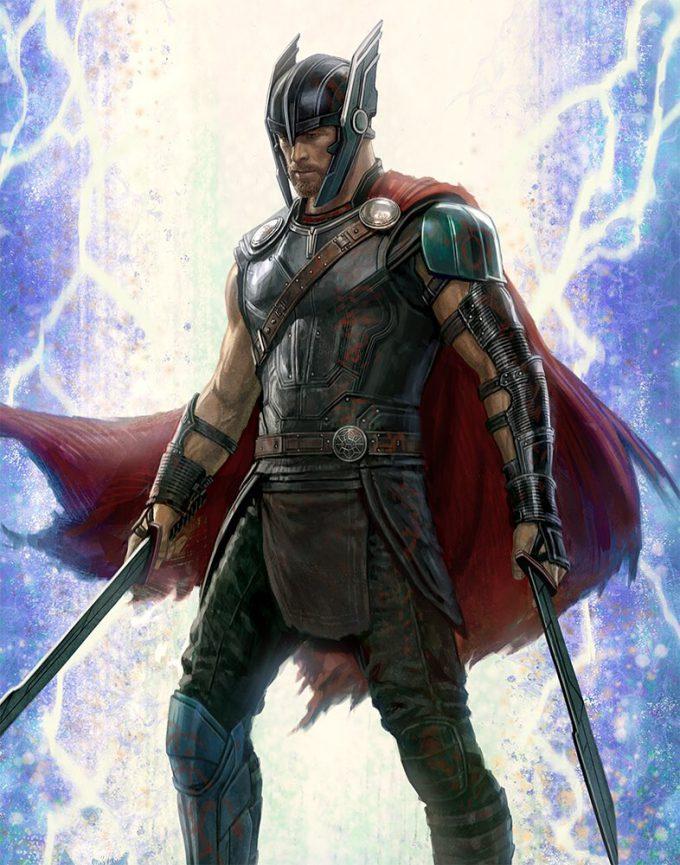 Thor Ragnarok Hulk Cover Art