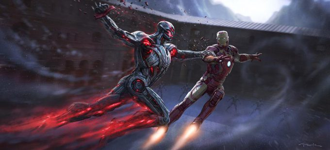 avengers age of ultron concept art iron man 01
