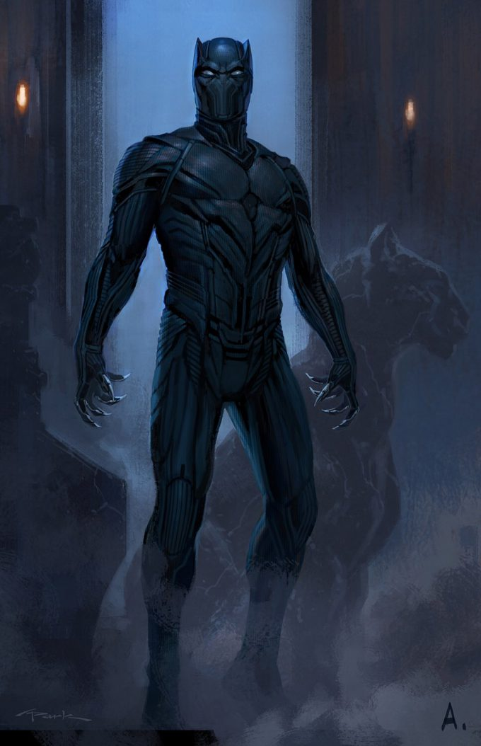 captain america civil war concept art andy park black panther 01