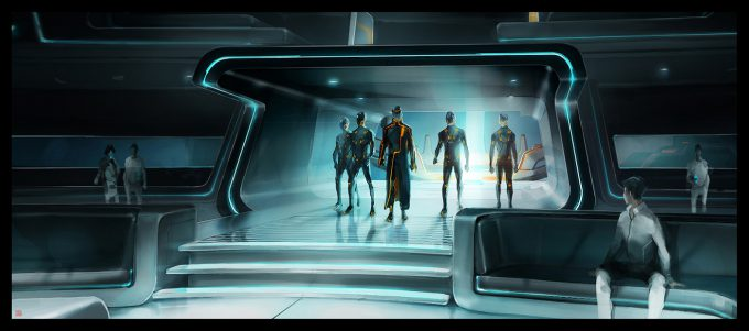 Thierry Doizon concept art illustration Tron Legacy 02