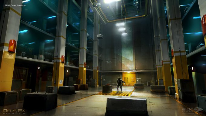 Thierry Doizon concept art illustration deus ex bt femaboss
