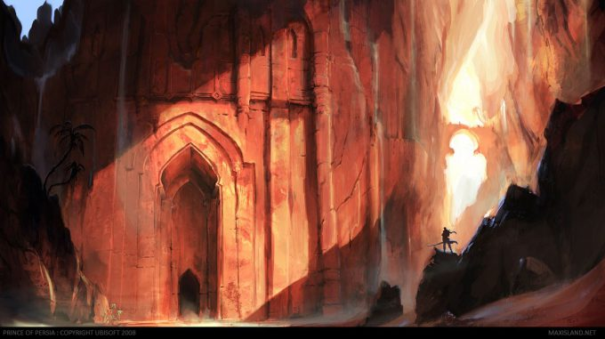 Prince of Persia Concept Art Maxime Desmettre 01