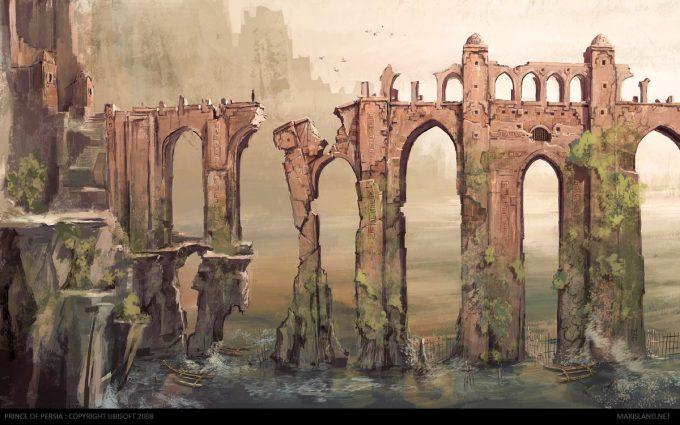 Prince of Persia Concept Art Maxime Desmettre 02