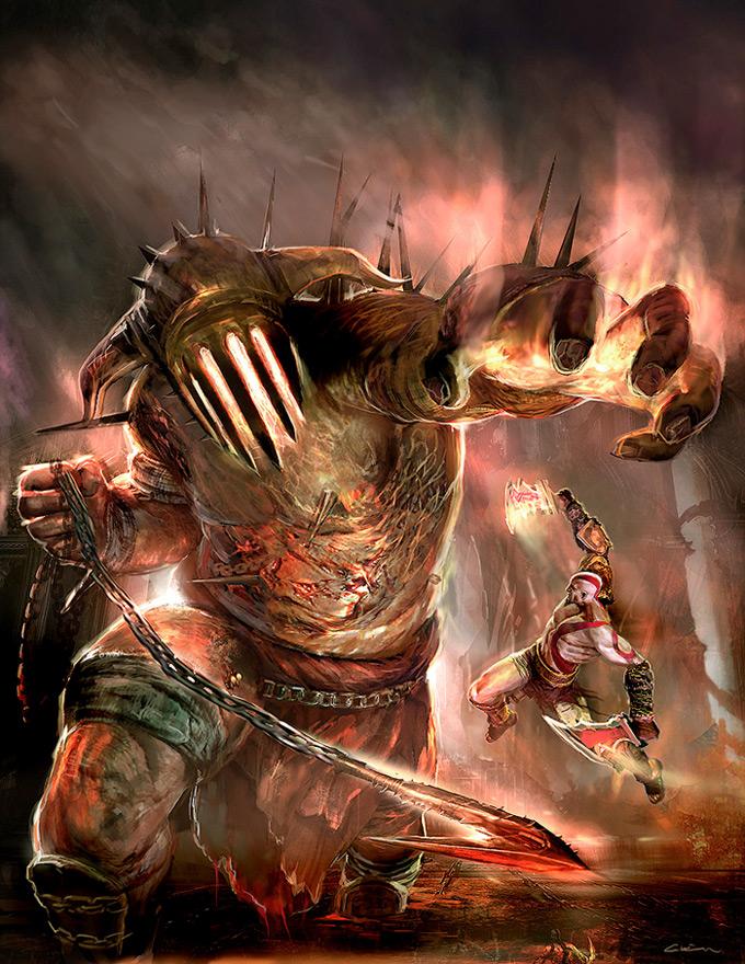 Cecil Kim Concept Art God of War