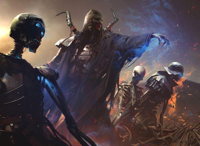 Maciej Kuciara Art MTG Magic The Gathering Xathrid Necromancer