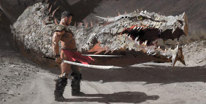 Maciej Kuciara Concept Art 01 Dragon