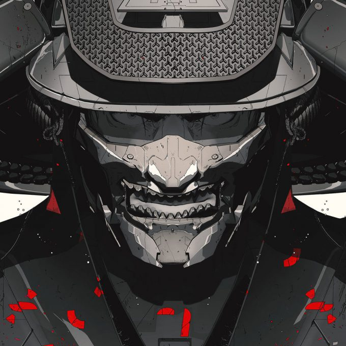 Maciej Kuciara Concept Art Design NIKE AE Warrior Comp 03