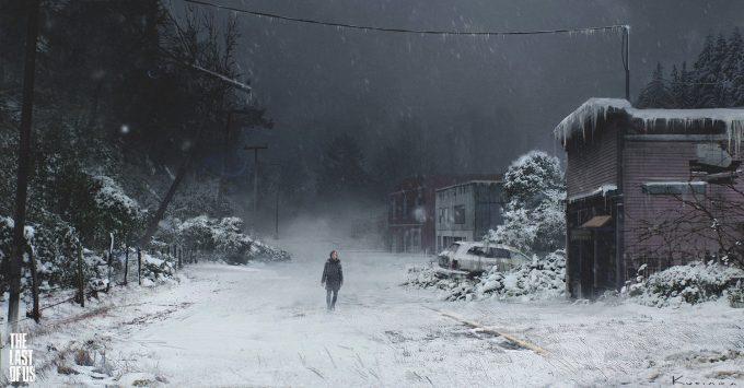 The Last of Us Concept Art Maciej Kuciara 02 Lakeside Storm 01