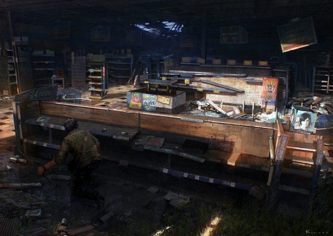 The Last of Us Concept Art Maciej Kuciara 04