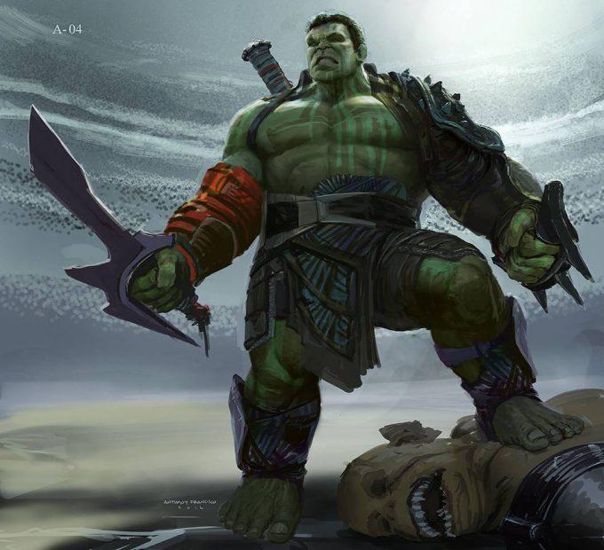 Anthony Francisco Concept Art Hulk 01