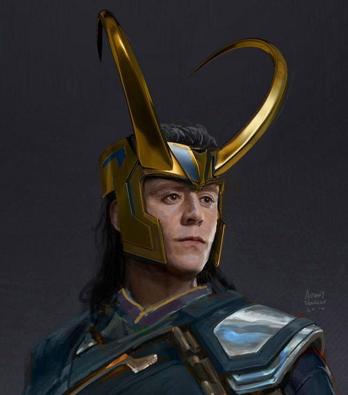 Anthony Francisco Concept Art Loki 2