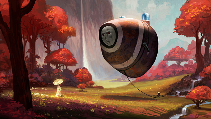 Matt Gaser Concept Art