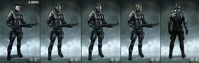 Underwater Wars Concept Art