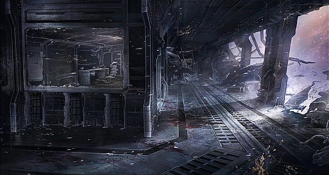 Visceral Games Concept Art