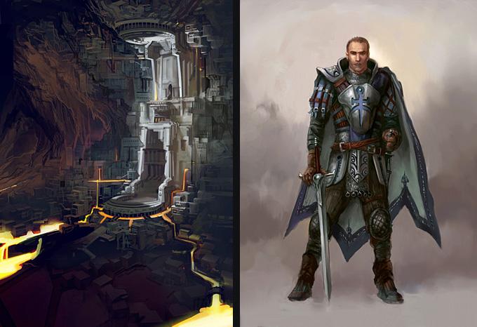 Dragon Age: Origins Concept Art