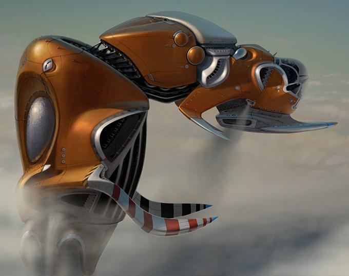 Scott Robertson Concept Art