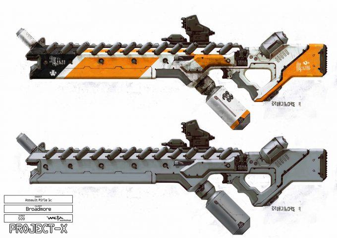 weta workshop design studio 509alien assault rifle1c fin gb