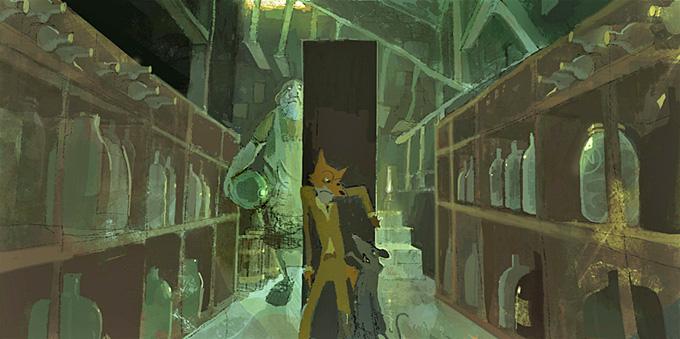 Fantastic Mr. Fox Art