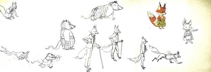 Fantastic Mr. Fox Art by Chris Appelhans