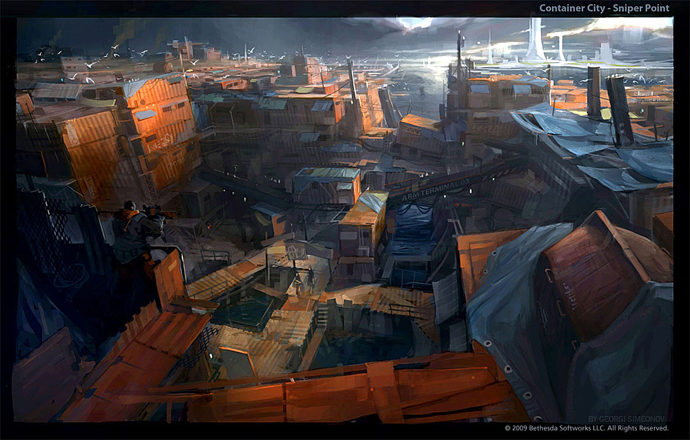 Container City - Sniper Point