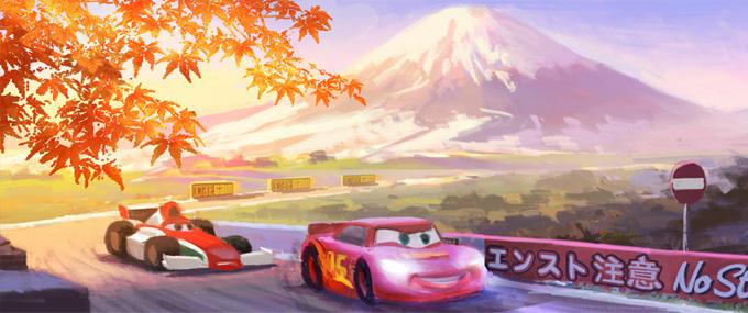 Cars 2 Concept Art 01a
